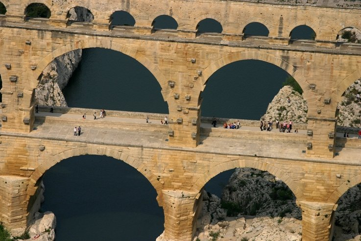 Photo aerienne Pont du Gard