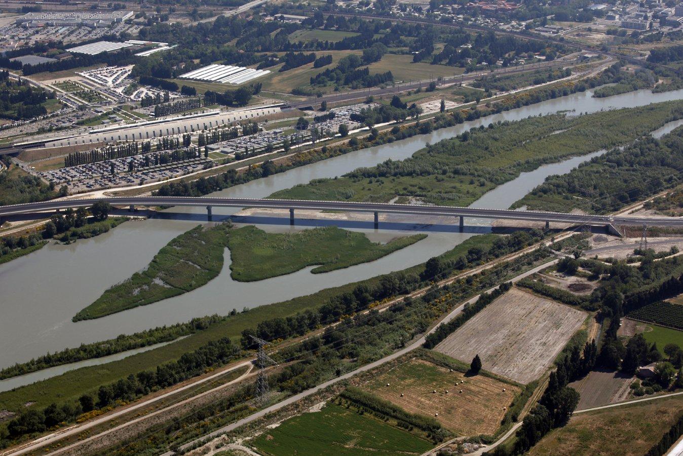 nouveau pont de Rognonas (LEO)